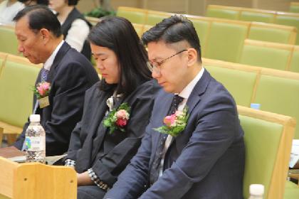 안덕준, 이안나 선교사 파송예배